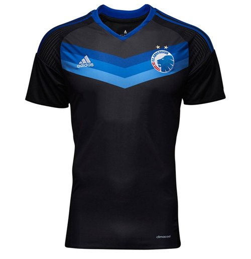 designer fashion 94644 f3574 2016-2017 FC Copenhagen Adidas Away Football Shirt (Kids)
