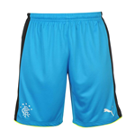 2016-2017 Rangers Away Goalkeeper Shorts (Blue)