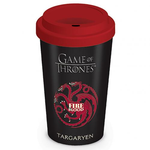 Game Of Thrones Ceramic Travel Mug Targaryen