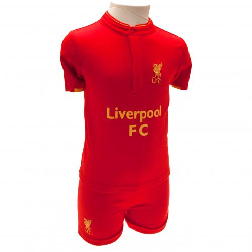 Liverpool F.C. Shirt & Short Set 18/23 mths GD