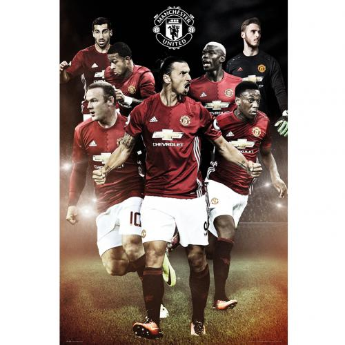Manchester United F.C. Poster Players 17