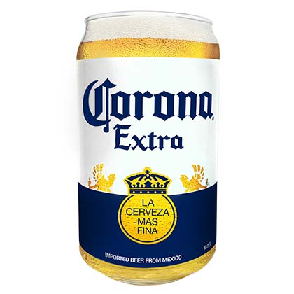 CORONA EXTRA Beer Can Pint Glass
