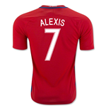 2016-17 Chile Home Shirt (Alexis 7) - Kids