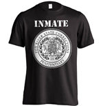 Prison Break T-Shirt Fox River Inmate Black