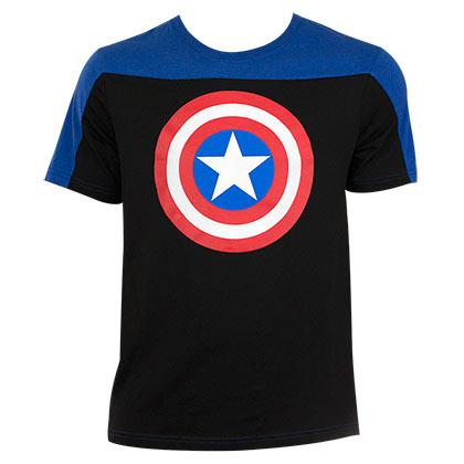 CAPTAIN AMERICA Two-Tone Tee Shirt