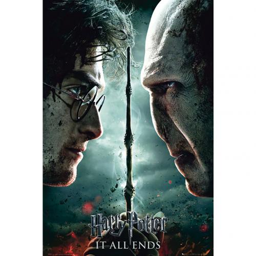 Harry Potter Poster It All Ends 227