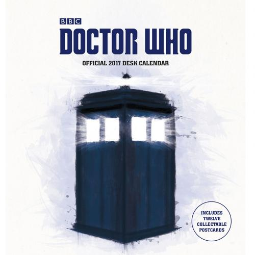 Doctor Who Desktop Calendar 2017