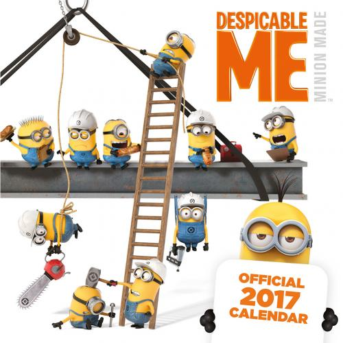 Despicable Me Calendar 2017 for only C$ 5.19 at MerchandisingPlaza CA