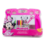 DISNEY Minnie Mouse My Creative Pad with 34pc Creative Accessories Kit