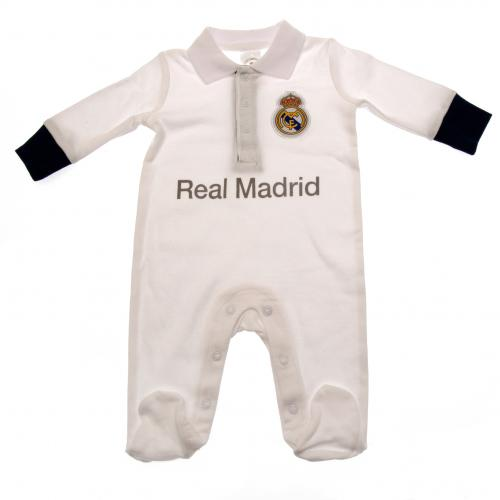 Real Madrid F.C. Sleepsuit 9/12 mths PL