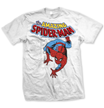 Marvel Comics T-Shirt Spidey Stamp white
