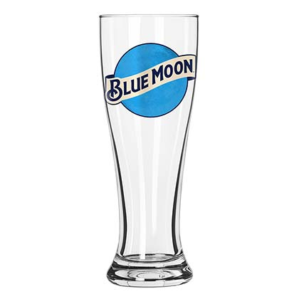 BLUE MOON Pilsner Pint Glass