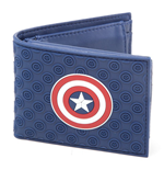 Captain America Bifold Wallet Shield Logo