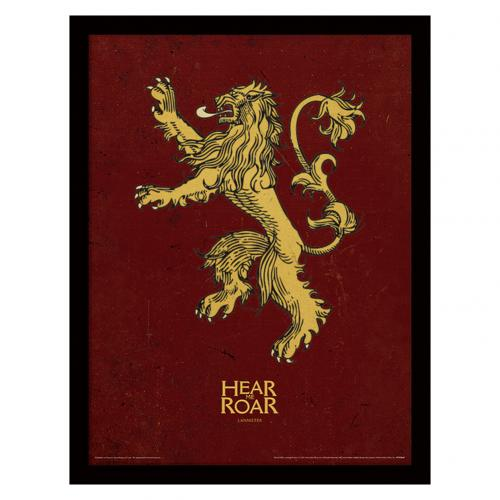 Game Of Thrones Framed Print Lannister 16 x 12