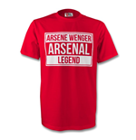 Arsene Wenger Arsenal Legend Tee (red)