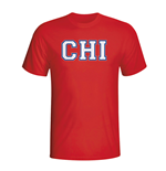 Chile Country Iso T-shirt (red)