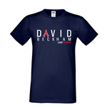 David Beckham PSG Eiffel Tower T-shirt (navy)