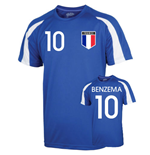France Sports Training Jersey (benzema 10)