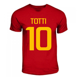 Francesco Totti Roma Hero T-shirt (red)