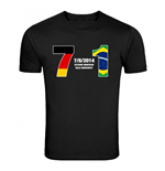 Germany 7 Brazil 1 T-Shirt (Black)