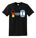 Germany 1 Argentina 0 T-Shirt (Black)