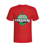 Portugal Country Logo T-shirt (red) - Kids