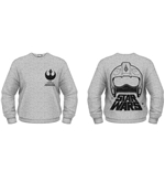 Star Wars The Force Awakens Sweatshirt X-WING Fighter Helmet