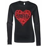 Nirvana T-shirt Poppy Heart Girls