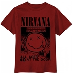 Nirvana T-shirt All Ages Flyer