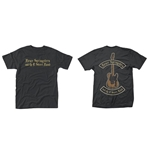 Bruce Springsteen T-shirt Black Motorcycle Guitars