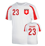 Switzerland Sports Training Jersey (shaqiri 23)