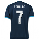 2015-2016 Real Madrid Third Shirt (Ronaldo 7) - Kids