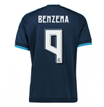 2015-2016 Real Madrid Third Shirt (Benzema 9) - Kids