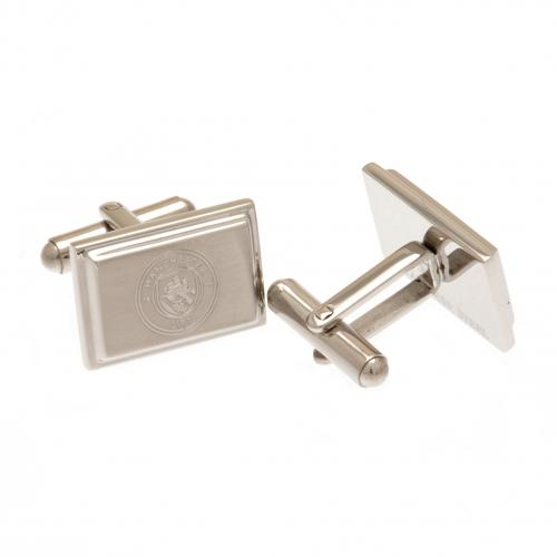 Manchester City F.C. Stainless Steel Cufflinks