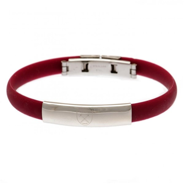 West Ham United F.C. Colour Silicone Bracelet
