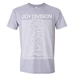 Joy Division T-shirt Unknown Pleasures (GREY)