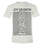 Joy Division T-shirt Unknown Pleasures (WHITE)