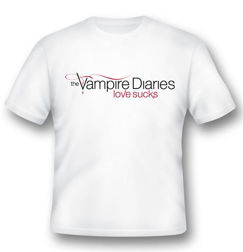 The Vampire Diaries T-shirt Love Sucks