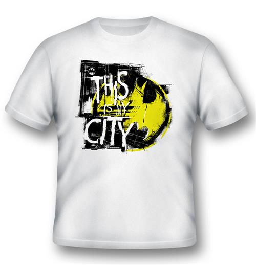Batman T-shirt This Is My City