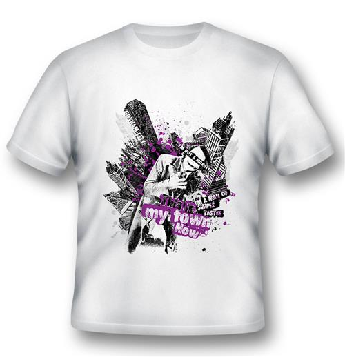 Batman T-shirt Joker This Is My Town