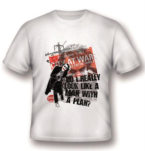 Batman T-shirt Joker A Man With A Plan