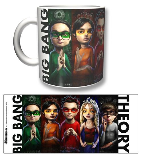 Big Bang Theory Mug Heroes