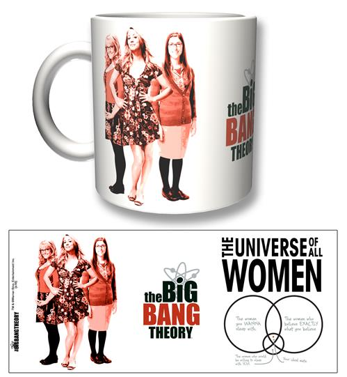Big Bang Theory Mug All Women