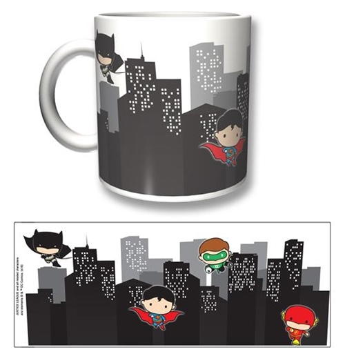 Justice League Mug Chibi