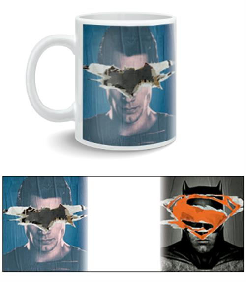 Batman vs Superman Mug Poster