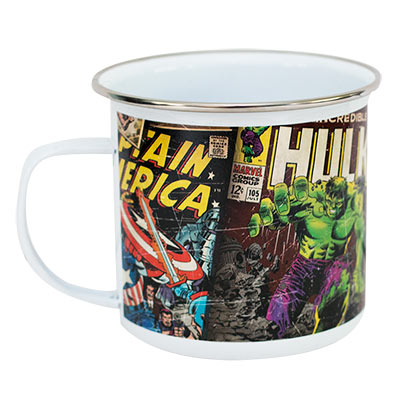 Marvel Comic Enamel Mug