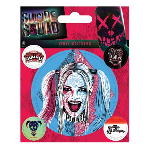 Suicide Squad Stickers Harley Quinn