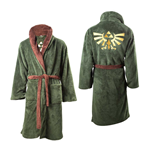 The Legend of Zelda Fleece Bathrobe Logo -S-M