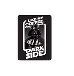 Star Wars Metal Magnet - Coffee On The Dark Side