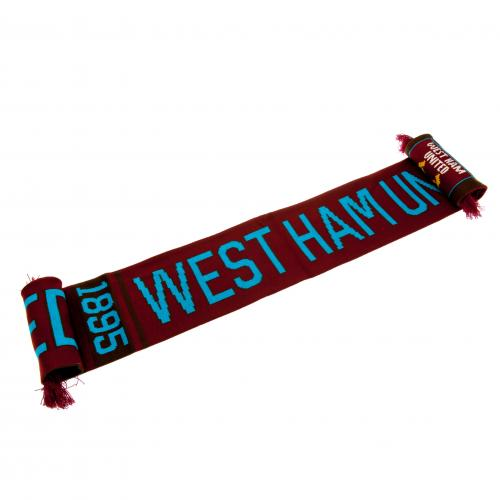 West Ham United F.C. Scarf NR